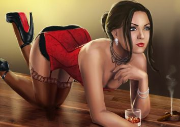 Table Top and Pin Up feat. Mia Rose by Dinoforce