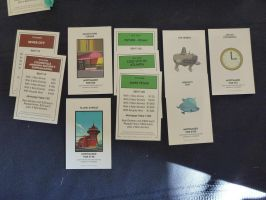 Futurama Monopoly: Title Deeds by Spaceman130