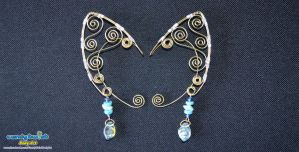 Thin Copper Wire Elf Ears 001 by Dabstar