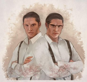Kray twins - 2 by Everybery