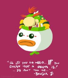 It's Bowser Jr. by claudetc