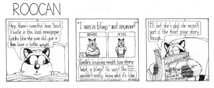 Roocan Strip 222 by BruBadger