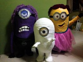 Life Size Minions by Rene-L