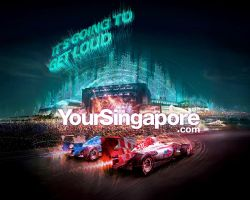 Singapore F1 2010 - F1Rock by Artgerm