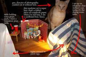 behind the scenes of Marlowe by oddhatter