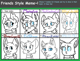 Friends Style Meme by Luckoon