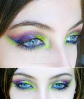 make-up colorful by Dead-Rose-16
