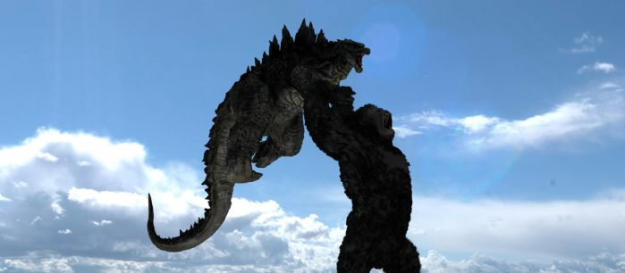 King Kong Vs Godzilla 2020! by kingkong19100