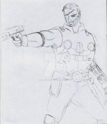 Cable Sketch by cardnumber00