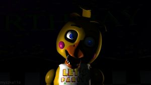 Why are you so shy, boy? - Toy Chica Wallpaper by myszka11o