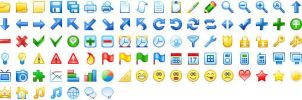20x20 Free Toolbar Icons by Ikont