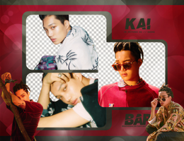 Pack Png #666 // Kai (EXO) (THE WAR) by BEAPANDA