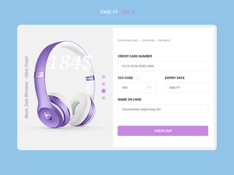 Daily UI Challenge - Day 4 by FanBarcelony