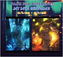 Pack PSD Reference by akiochan5302