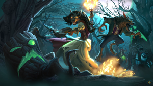 Hearthstone: The Witchwood - 8 by Dabadalia