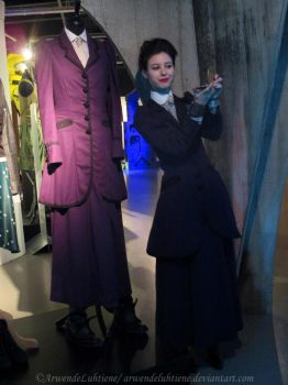 Missy with Missy at the Doctor Who Experience II by ArwendeLuhtiene