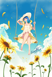 Phyrnna Summer Ver. / Contest piece by Vinsuality