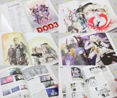 Drag-On Dragoon 3 Artbook by marblegallery7