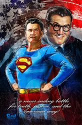 Superman: George Reeves by jonpinto