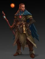 Pathfinder Mage by joeshawcross