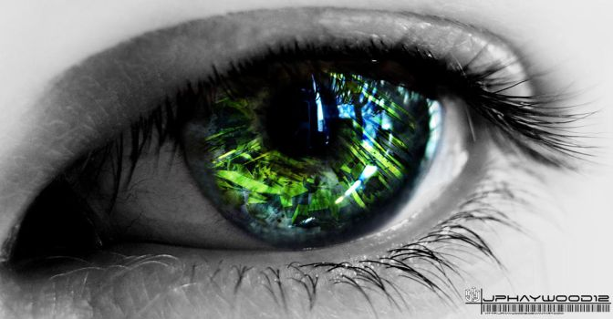 Abstract eye by jphaywood12
