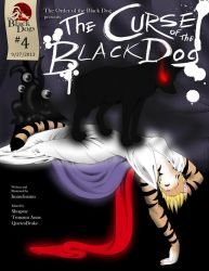 The Curse of the Black Dog: Cover and Page 1 by SonOfNothing