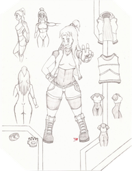 Rika Lee Bryant: The 2018 Reference by thechaosblue
