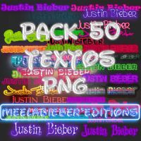 Textos Justin Bieber png PACK by MeelaBosteritaa