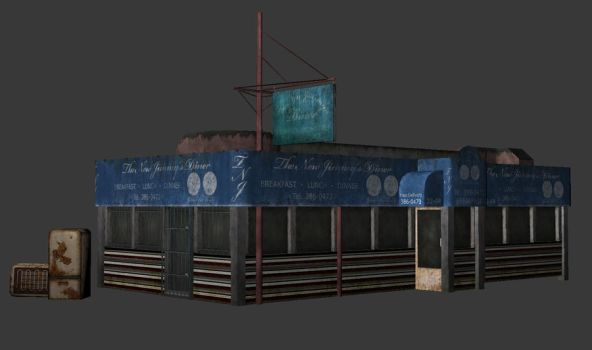 abandoned restaurant by bhekbhek