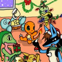 request: Pok'e Christmas by Doodlz18
