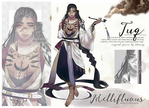[CLOSED] Tuq   guest artist adopt   'Mellifluous' by Black-Quose