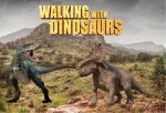 Walking With Dinosaurs:  Patchi VS Gorgon by sonichedgehog2