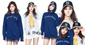TWICE PNG Pack Tzuyu {MLB 2017} by soshistars