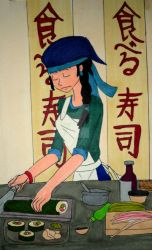 The Art of Sushi by InkArtWriter