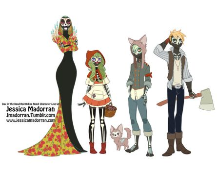Character Design - Little Red Riding Hood by MeoMai