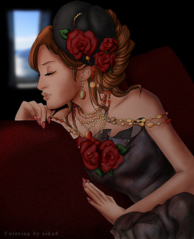 Color: Red Roses by eiko8