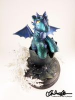 Buttons the Baby Dragon custom MLP by thatg33kgirl
