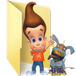 The Adventures of Jimmy Neutron: Boy.. Folder Icon by Animaniacc