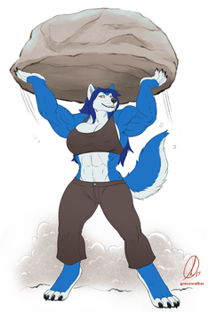 Massive Lift by HopeyWolf