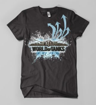 world of tanks tee design by 13ride89