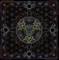 Mandala of the New Zion by Lakandiwa