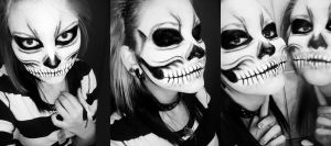 My Halloween Make up 2012 by LoveAsia