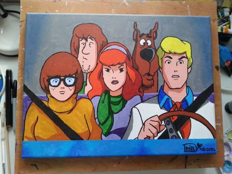 Scooby-Doo and the gang by TonicShadow