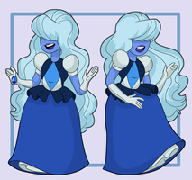 Sapphire by ExOh9