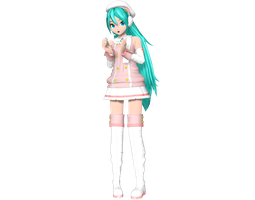 Project Diva Arcade Future Tone Powder Miku by WeFede