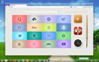 SuperStart Icon Set Preview v3 by Runningcheese