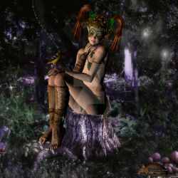 Green Child by Talwicca