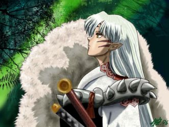 Sesshomaru by MrsSun