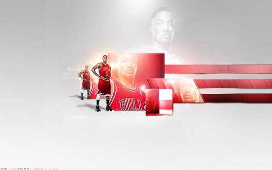 Derrick Rose Wallpaper by nilsvber