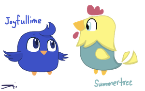 mY CHICKIES by LeviAJRoyale